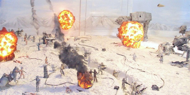 Grown Man Turns Living Room Into Enormous, Incredible Battle Of Hoth Diorama
