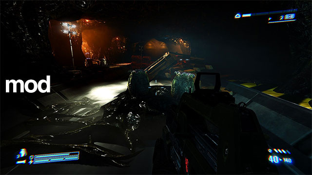 Maybe Mods Can Improve Aliens: Colonial Marines On PC