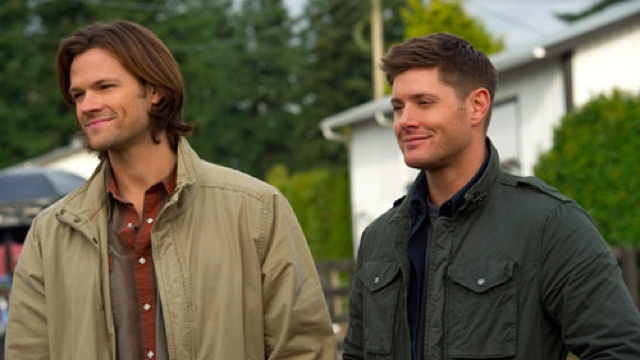 "It's the ""Sam and Dean wear glasses"" episode of Supernatural!"
