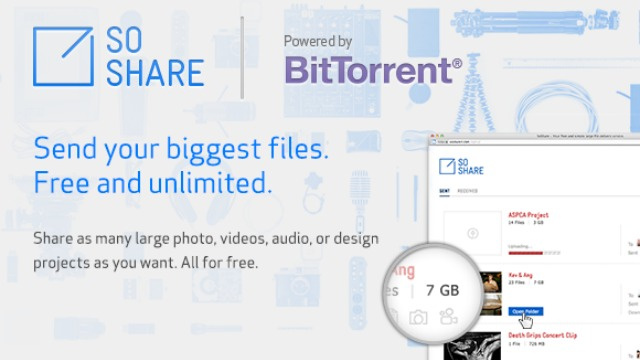 Click here to read BitTorrent's New Trick: Letting You Send Terabyte-Sized Email Attachments