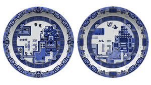 Video Game Plates So Gorgeous You'll Pause Before Dropping Your Filthy Food On Them