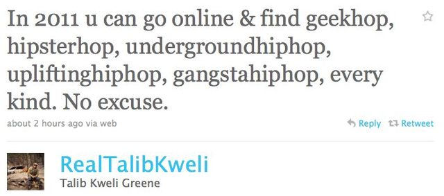 Talib Kweli Has Some Words For Ashley Judd