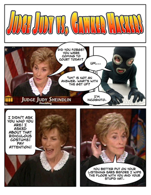 Judge Judy Takes On The Gawker Hackers