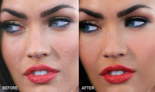 How Photoshop Transformed Megan Fox