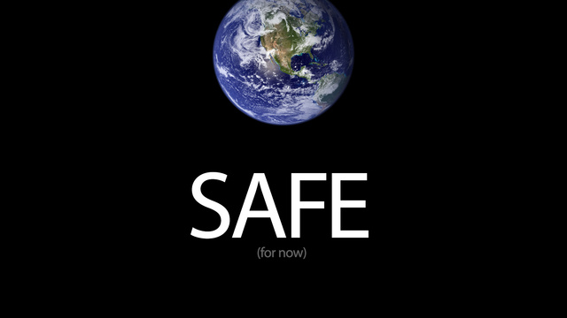 Click here to read We're Safe! The Asteroid Goes Away