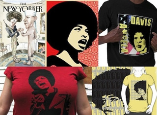 What Angela Davis Thinks Of Her Face On T-Shirts