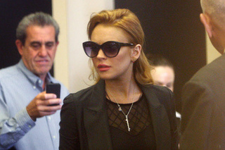 Rehab Forces Lindsay Lohan To Confront Twitter Addiction
