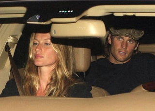 Gisele And Tom Share An Awkward Car Ride