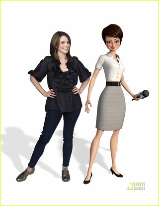 Tina Fey's Megamind Character Has An Impossibly Tiny Waist