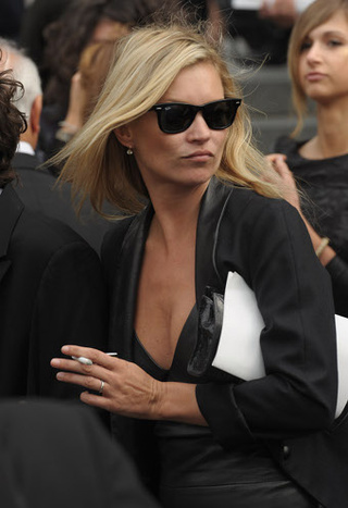 Kate Moss Actually Speaks