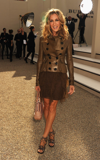 Celebs Look Great And/Or Goofy At London Fashion Week