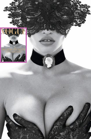 Lara Stone's Breasts Nab French Vogue Cover