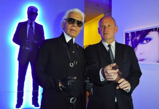 Karl Lagerfeld Will Let Only Nobu's Creations Touch His Rarefied Lips