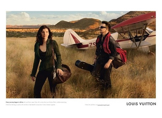 Ubiquitous Bono Models For Vuitton With Wife Ali Hewson