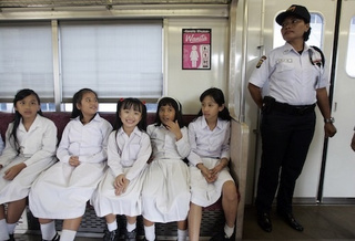 Women-Only Train Service Launched In Jakarta