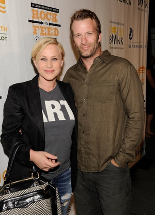 Thomas Jane & Patricia Arquette Call It Quits