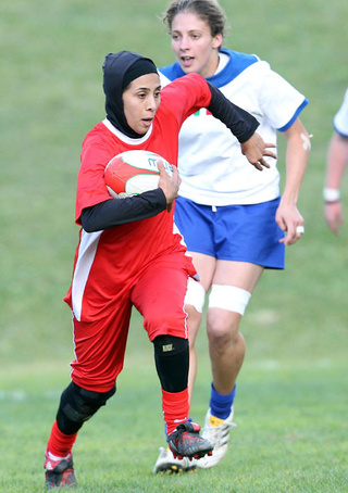 Iranian Rugby Team Plays In Veils For First European Game