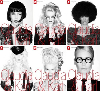 Karl And Claudia Do Blackface; Rihanna Might Book D&G