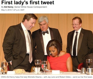 Michelle Obama's First Tweet