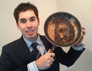 Alert God: Jesus Found In Frying Pan