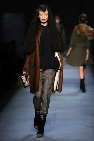 Channel Your Inner Cruella At Fendi