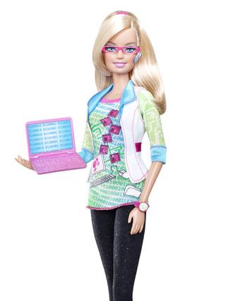 Is Computer Engineer Barbie Going To Get More Girls Into Tech?