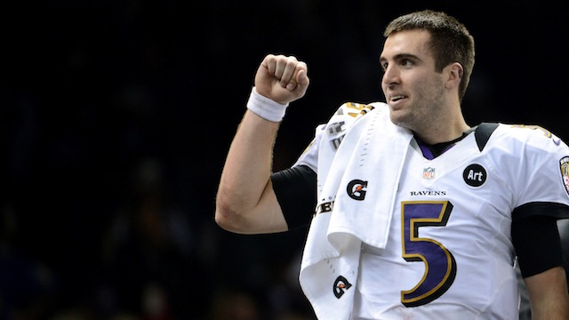 Joe Flacco Wasn't The First To Consider Leaving The Sideline To…