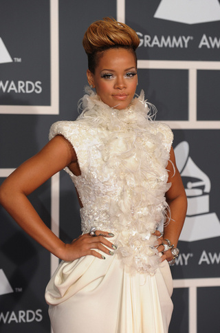 Rihanna Kept Out Of Grammys; Lohan Headed To Haiti