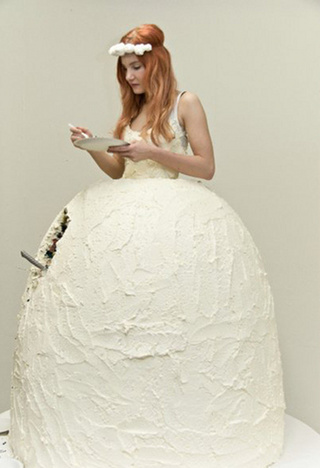 The Bride Wore Cake