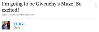 Ciara Will Be Givenchy's New Muse