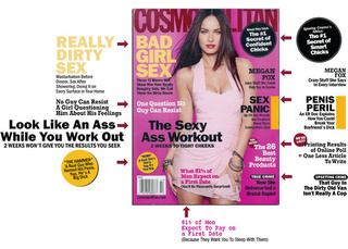 Cosmo:  Powerful Women Use Their Vaginas, Not Their Voices