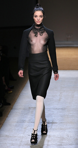 No Pants - Lots Of Breasts - At Yves Saint Laurent