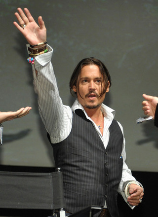 Depp Wants To Jump Pirates Ship;  Danes & Dancy Wed
