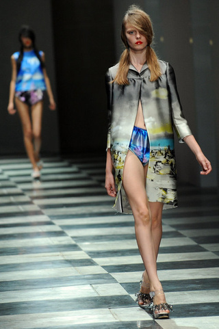 Sweet, Sharp, And Beachy At Prada