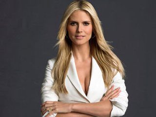 Heidi Klum Is Out. (Of Her Clothes. On Your Coffee Table.)