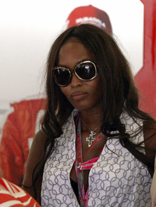 Naomi Campbell Speaks Out (For A Change)