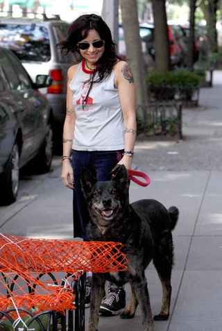 Janeane Can Even Make Her Dog Laugh