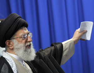 Iran's Supreme Leader: Sit Down And Shut Up