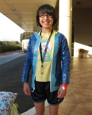 Adorable 13-year-old Makes Enviable Duct Tape Jacket