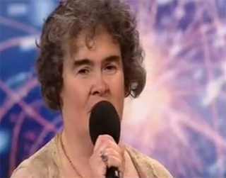 Susan Boyle's Dream Only Takes Her To Second Place