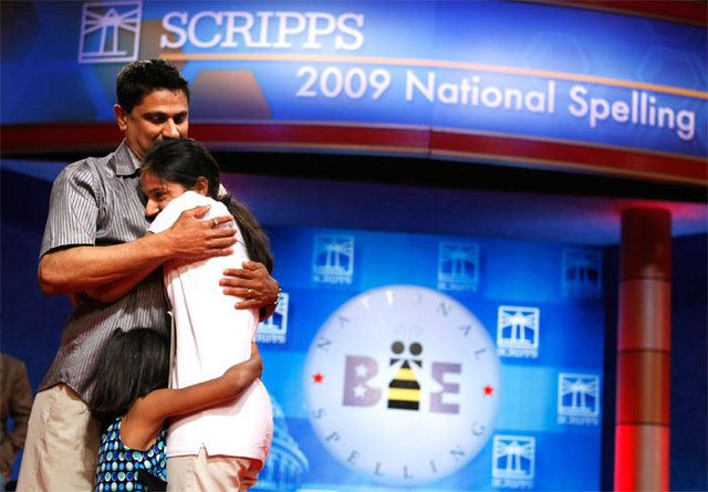13-Year-Old Kansas Girl Wins Spelling Bee