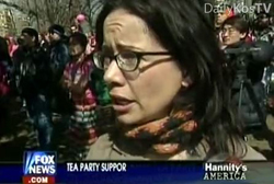 """Tea Party"" Tax Protesters To Protest Janeane Garofalo"