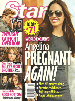 This Week In Tabloids: Angelina's Pregnant, Lindsay Refuses Rehab