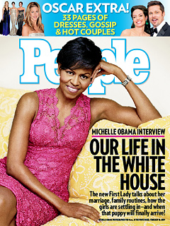 People: At Home With Michelle Obama