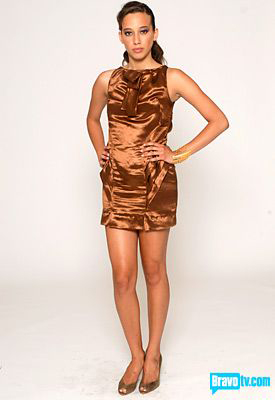 Project Runway: Team Ugly Brown Dress Vs. Leatherface