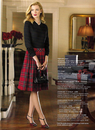 Brooks Brothers: This Christmas, WASPs Are Mad For Plaid