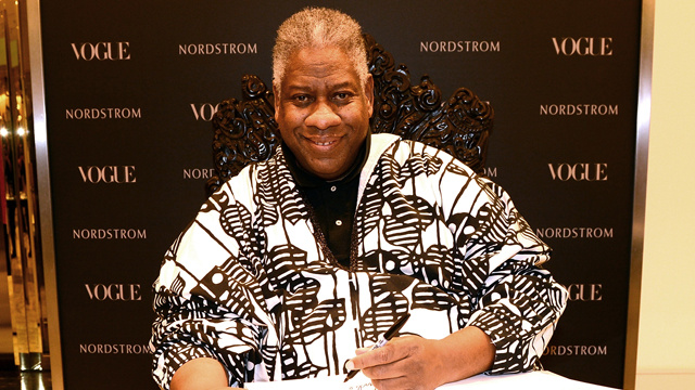 André Leon Talley Bids Au Revoir to Vogue