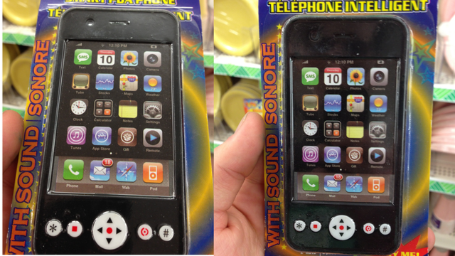 Click here to read These Toy iPhones Come Jailbroken Right Out of The Box