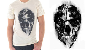 You Won't Blend In Wearing A Snazzy Dishonored Shirt