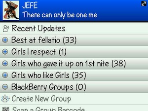 "Gilbert Arenas Has A Special BlackBerry Messenger Category For ""Best At Fellatio"""